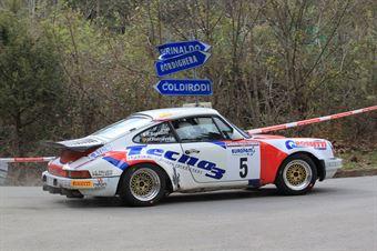 Bossalini Elia,RatnayakeHarsHana(Porsche 911 Scrs,Island Motorsport,#5), CAMPIONATO ITALIANO RALLY AUTO STORICHE