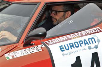 Girardo Massimiliano,Baldi Elio(Lancia Stratos,Team Bassano,#14), CAMPIONATO ITALIANO RALLY AUTO STORICHE