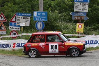 Pitetti Luca,Grassone Valentina(A112 Abarth,Meteco Corse,#100), CAMPIONATO ITALIANO RALLY AUTO STORICHE