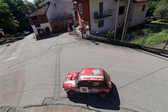 Paterniti Gaetano,Gallo Erica(A112 Abarth,Scuderia Biella Corse,#101), CAMPIONATO ITALIANO RALLY AUTO STORICHE