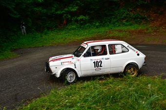 Cassina Marco,Biancotto Alice(Fiat 127,Scuderia Biella corse,#102), CAMPIONATO ITALIANO RALLY AUTO STORICHE