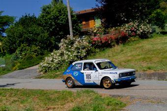 Margarito Paolo Antonio,Accaroli Marco(Fiat 127 sport,Novara rally group,#105), CAMPIONATO ITALIANO RALLY AUTO STORICHE