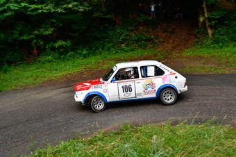 Pinati Marco,Guelpa Corrado(Fiat 127,Scuderia Biella Corse,#106), CAMPIONATO ITALIANO RALLY AUTO STORICHE