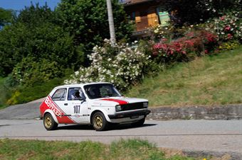 Bottazzi Alessandro,Guidotti Moreno(Fiat 127 cl,Piacenza Corse Autostoriche,#107), CAMPIONATO ITALIANO RALLY AUTO STORICHE