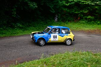 Francini Raffaele,Carolo Alessandro(A112 Abarth,#108), CAMPIONATO ITALIANO RALLY AUTO STORICHE