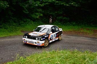 Valliccioni Marc,Cardi Marie Josee(Bmw M3,Rally & co,#11), CAMPIONATO ITALIANO RALLY AUTO STORICHE