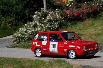 Nicola Simone,Martinotti Emilio(Fiat Panda,Meteco Corse,#110), CAMPIONATO ITALIANO RALLY AUTO STORICHE