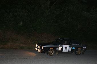Volpato Enrico,Sordelli Samuele(Ford Escort mk2,Biella Motor Team,#14), CAMPIONATO ITALIANO RALLY AUTO STORICHE