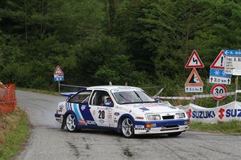 Gibello Andrea,Pontarollo Lorenzo(Ford Sierra Cosworth,Biella Motor Team,#20), CAMPIONATO ITALIANO RALLY AUTO STORICHE