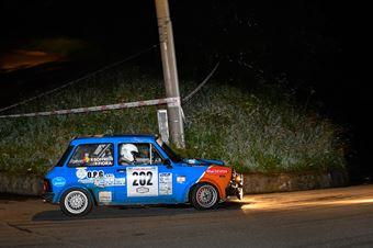 Fiora Filippo,Soffritti Massimo(A112 Abarth,Team Bassano,#202), CAMPIONATO ITALIANO RALLY AUTO STORICHE