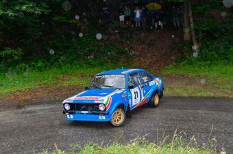 Anziliero Valter,Berra Anna(Ford Escort mk2,Biella Motor Team,#21), CAMPIONATO ITALIANO RALLY AUTO STORICHE