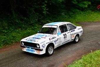 Vicario Dino,Frasson Simona(Ford Escort Rs,Rally & co,#22), CAMPIONATO ITALIANO RALLY AUTO STORICHE