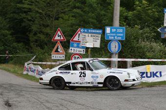 Dell'Acqua Marco,Galli Alberto(Porsche 911 s,Rally & co,#25), CAMPIONATO ITALIANO RALLY AUTO STORICHE