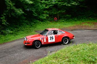 Parisi Antonio,D Angelo Giuseppe(Porsche 911s,Scuderia Rododendri Historic,#26), CAMPIONATO ITALIANO RALLY AUTO STORICHE