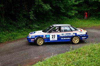 Valente Edoardo,Revenu Jeanne Francoise(Subaru Legacy,Team Bassano,#27), CAMPIONATO ITALIANO RALLY AUTO STORICHE