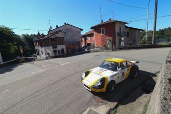 Delladio Lorenzo,Mengon Luca(Porsche 911,Manghen Team,#29), CAMPIONATO ITALIANO RALLY AUTO STORICHE