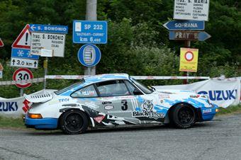 Da Zanche Lucio,De Luis Daniele(Porsche 911 sc,Rally Club Team,#3), CAMPIONATO ITALIANO RALLY AUTO STORICHE