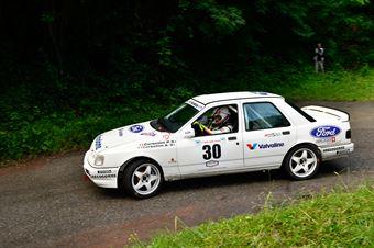 Corbellini Paolo,Corbellini Aurelio(Ford Sierra Cosworth,Winners Rally Team,#30), CAMPIONATO ITALIANO RALLY AUTO STORICHE