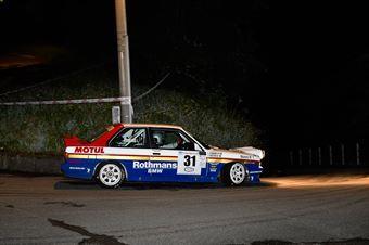 Frattini Ivo,Ferraris Luca(Bmw M3,Biella Motor Team,#31), CAMPIONATO ITALIANO RALLY AUTO STORICHE
