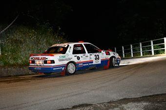 Cristofaro Fabio,Caligaris Alberto(Ford Sierra Cosworth,Biella 4 Racing,#33), CAMPIONATO ITALIANO RALLY AUTO STORICHE