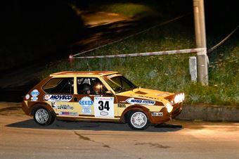 Delle Coste Luca,Franca Regis Milano(Fiat Ritmo 75,Rally & co,#34), CAMPIONATO ITALIANO RALLY AUTO STORICHE
