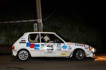Cochis Maurizio,Manganone Milva(Peugeot 205 gti,Team Bassano,#35), CAMPIONATO ITALIANO RALLY AUTO STORICHE