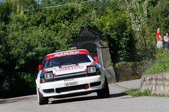 Bergo Claudio,Trombini Maurizio(Toyota Celica,Biella Motor Team,#36), CAMPIONATO ITALIANO RALLY AUTO STORICHE