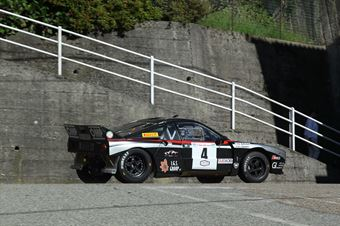 Battistolli Alberto,Cazzaro Luigi(Lancia Rally 037,Key Sport Engeenering,#4), CAMPIONATO ITALIANO RALLY AUTO STORICHE