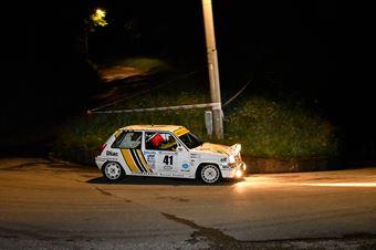 Zandona Damiano,Corinaldesi Paolo(Renault 5 gt,Team Bassano,#41), CAMPIONATO ITALIANO RALLY AUTO STORICHE