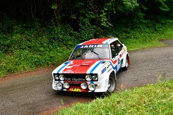 Pellegrino Pierangelo,Peruzzi Davide(Fiat 131 Abarth,Aeffe Sport e comunicazione,#45), CAMPIONATO ITALIANO RALLY AUTO STORICHE