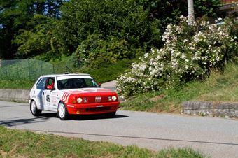 Soave Fiorenza,Blanco Malerba Ornella(Fiat Ritmo 130,Rally Club Team,#46), CAMPIONATO ITALIANO RALLY AUTO STORICHE