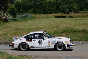 Valle Luca,Bertoglio Cristiana(Porsche 911 sc,Biella Motor Team,#48), CAMPIONATO ITALIANO RALLY AUTO STORICHE