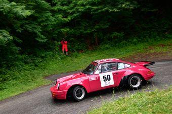 Prosdocimo Stefano,Pontarollo Diego(Porsche Carrera rs,Biella Motor Team,#50), CAMPIONATO ITALIANO RALLY AUTO STORICHE