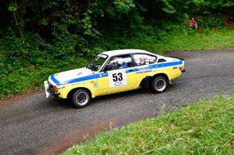 Cabella Sergio,Ferron Simona(Opel Kadet,Winners Rally Team,#53), CAMPIONATO ITALIANO RALLY AUTO STORICHE