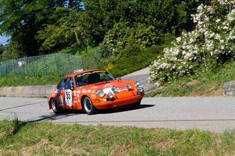 Salin Nicola,Protta Paolo(Porsche 911s,Rally&co,#55), CAMPIONATO ITALIANO RALLY AUTO STORICHE