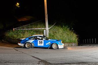 Giovannelli Roberto,Rovere Isabella(Porsche 911 rs,Team Bassano,#59), CAMPIONATO ITALIANO RALLY AUTO STORICHE