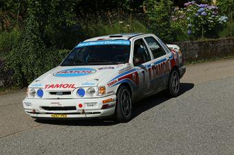 Cunico Franco,Cirillo Stefano(Sierra Cosworth,Scuderia Palladio historic,#7), CAMPIONATO ITALIANO RALLY AUTO STORICHE
