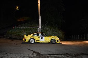 Bianco Cesare,Casazza Stefano(Porsche 911,eurospeed,#70), CAMPIONATO ITALIANO RALLY AUTO STORICHE