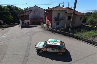 Maroso Ugo,Maroso Riccardo(Fiat ritmo 130,Biella 4 racing,#71), CAMPIONATO ITALIANO RALLY AUTO STORICHE