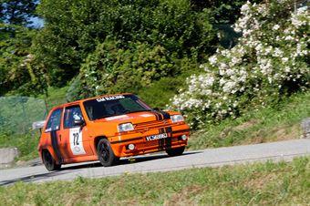 Griffa Michele,Griffa Francesco(Renault 5 gt Turbo,#72), CAMPIONATO ITALIANO RALLY AUTO STORICHE