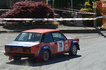 Caffarena Alberto,Nicol(Fiat 131,Meteco Corse,#73), CAMPIONATO ITALIANO RALLY AUTO STORICHE