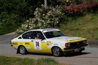 Ribieri Maurizio,Perriello Ivan(Opel Kadet gte,#74), CAMPIONATO ITALIANO RALLY AUTO STORICHE