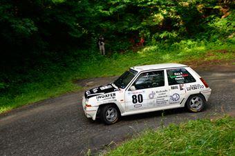 Viola Paolo,Pizzato Andre(Renault 5 Gt turbo,Rally & co,#80), CAMPIONATO ITALIANO RALLY AUTO STORICHE