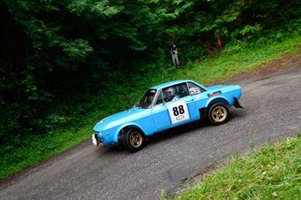 Giorgi Andrea,Curone Laura(Lancia fulvia hf,#88), CAMPIONATO ITALIANO RALLY AUTO STORICHE