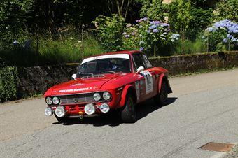 Vaccani Fabrizio,Rapetti Walter(Lancia Fulvia rally,Team Bassano,#82), CAMPIONATO ITALIANO RALLY AUTO STORICHE