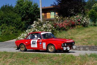 Vaccani Fabrizio,Rapetti Walter(Lancia Fulvia,Team Bassano,#82), CAMPIONATO ITALIANO RALLY AUTO STORICHE