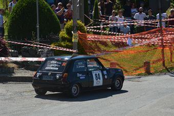 Liprandi Evasio,Bobba Alberto(Renault R5 Alpine,Nordovest Racing,#84), CAMPIONATO ITALIANO RALLY AUTO STORICHE