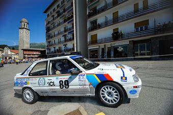 Travaglia Paola,Passalaqua Martina(Peugeot 309 gti,Team Bassano,#89), CAMPIONATO ITALIANO RALLY AUTO STORICHE