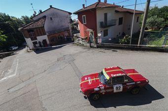 Pardi Fabrizio,Bianco Silvia((Lancia Fulvia ,#92), CAMPIONATO ITALIANO RALLY AUTO STORICHE