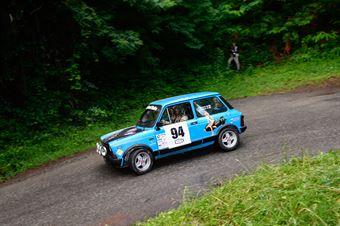 Laboisse Marc,Laboisse Stephanie(A112 Abarth,Team Bassano,#94), CAMPIONATO ITALIANO RALLY AUTO STORICHE